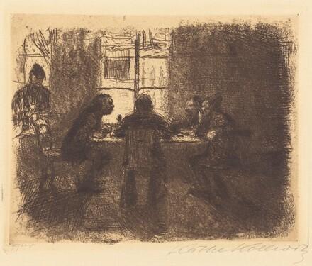 Four Men in a Pub (Vier Manner in der Kneipe)