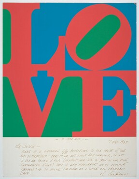 Robert Indiana, Love, 1967
