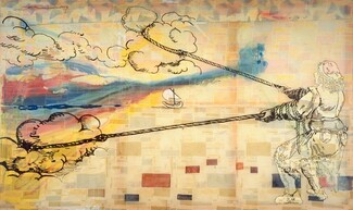 Sigmar Polke, Hope is: Wanting to Pull Clouds, 19921992