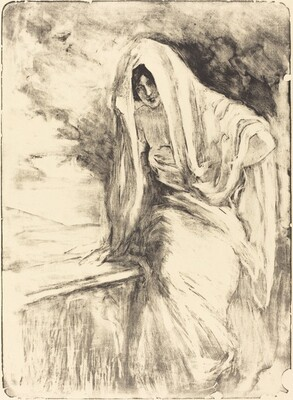 Woman with a Shawl