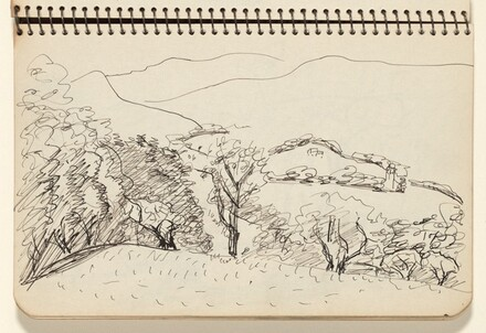 Landscape with Distant Hills