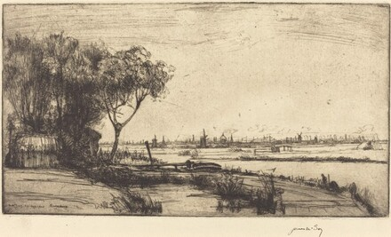 Amsterdam from Ransdorp