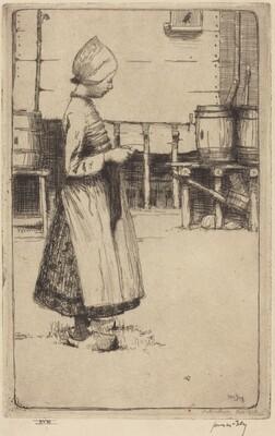 A Volendam Girl