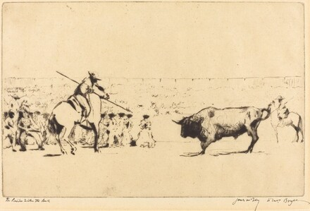 The Picador Incites the Bull