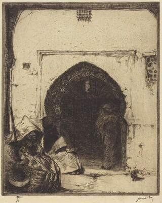 Beggars, Tetuan, No.2