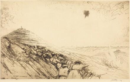 The First Sight of Jerusalem - Nebi Samwil, No.2