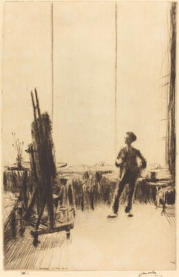 The Critic (Portrait of Duncan MacDonald)