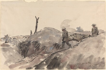 Stretcher Bearers, Somme