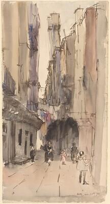 Calle della Madonna (?)