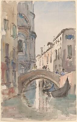 Canal at Noon