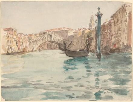 Grand Canal, Rialto, Venice