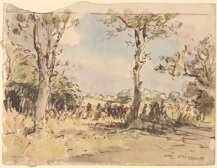 Harvesting in Fyfeshire