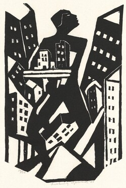 James Lesesne Wells, Looking Upward, 19281928