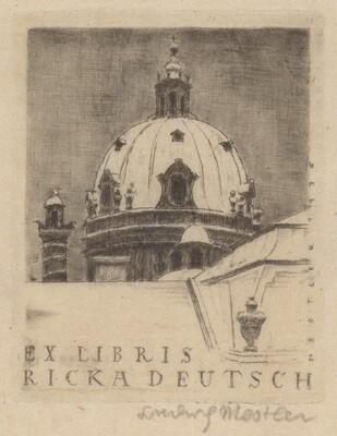 Bookplate Ricka Deutsch