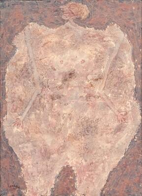 Corps de dame jaspé (Marbleized Body of a Lady)