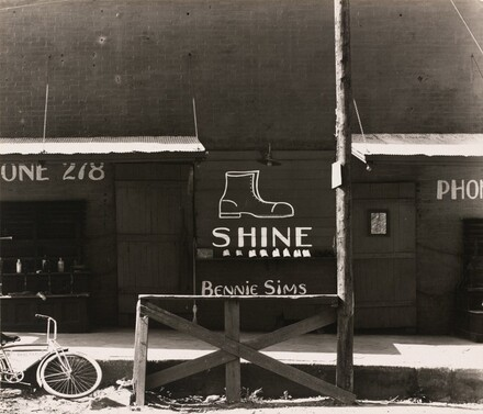 Shoeshine Sign in a Southern Town
