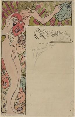 Program Design for the Théâtre Libre