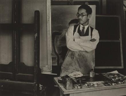 Kuniyoshi at Easel, Old New York
