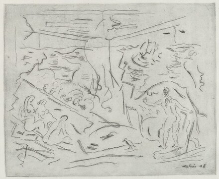 Sea with Figures, No. 2