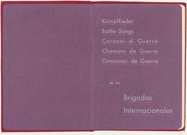 Kampflieder: Battle Songs: Canzoni di Guerra