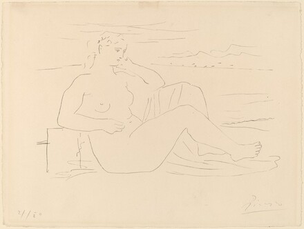 Woman at the Seashore (Femme au bord de la mer)