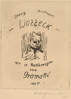 Wozzeck (Portfolio of 12 plates and title page)