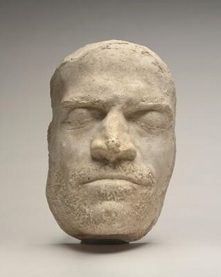 Death Mask of Lorenzo de' Medici (modern aftercast)
