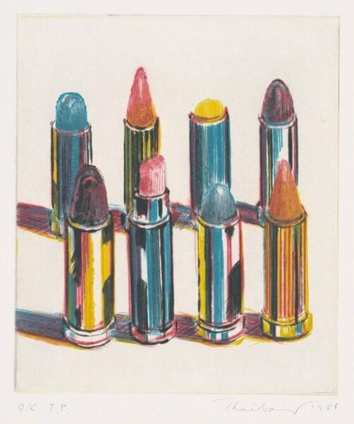 Eight Lipsticks