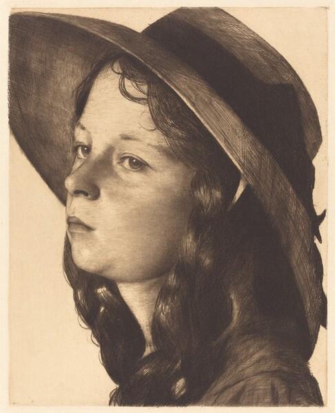 Head of a Girl (Mädchenkopf)