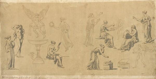 Studies of Classical Women, with Eros