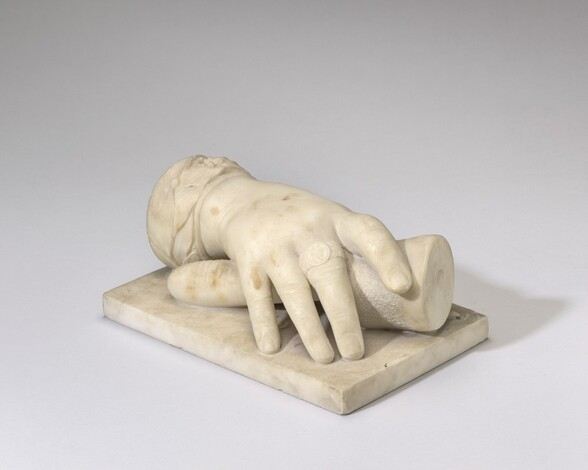 Hand of Unknown Sculptor