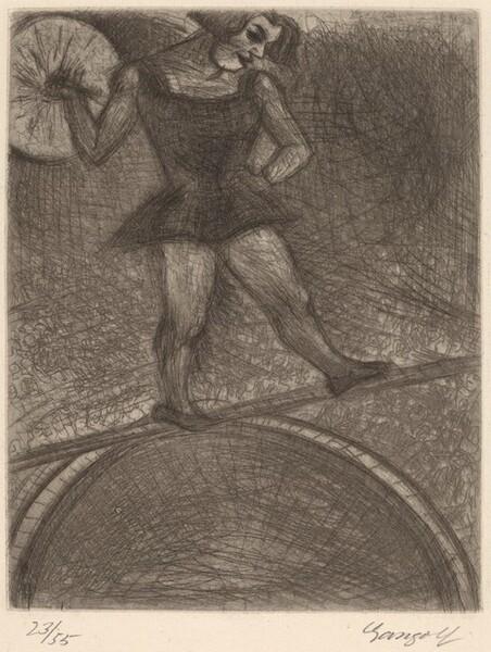 The Tightrope Walker (Die Seiltänzerin)