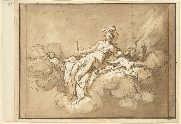 Juno Seated on the Clouds