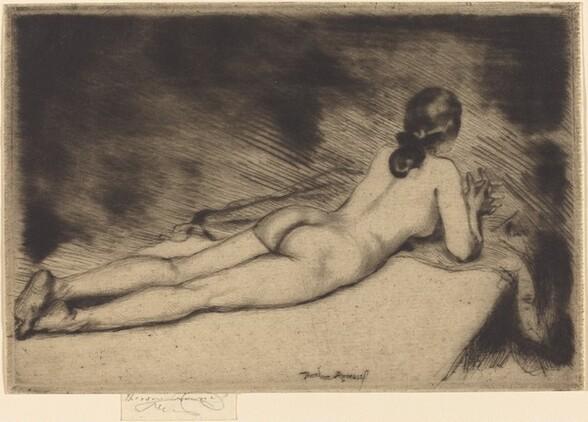 Figure of a Woman Lying Down