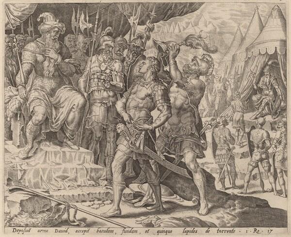 David Armed before Saul