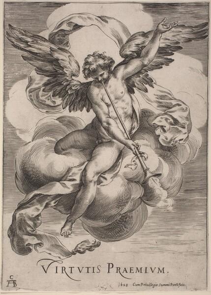 An Allegorical Figure: Virtutis Praemium
