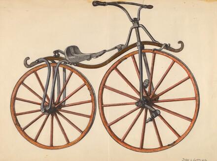 John Cutting, Bicycle, 1935/1942