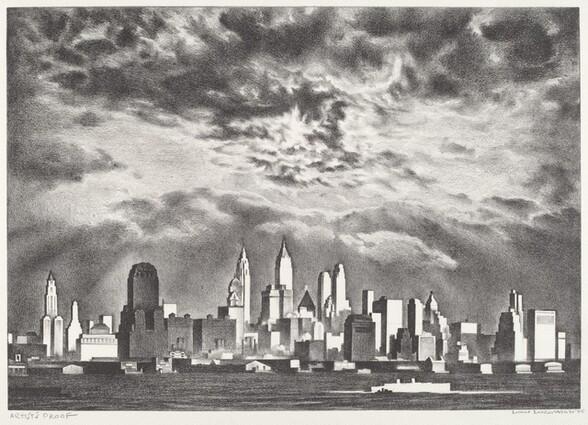 Storm Clouds above Manhattan