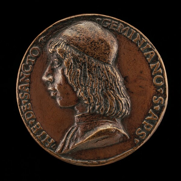 Girolamo Ridolfi of San Gimignano, 1465-1526, Apostolic Secretary, Consistorial Advocate, and Knight of the Golden Spur [obverse]