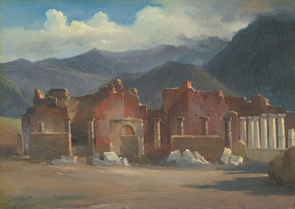 The Forum at Pompeii