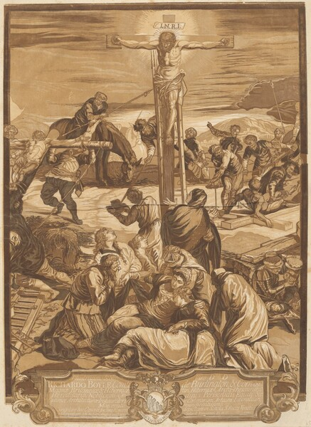 The Crucifixion [Center Panel]