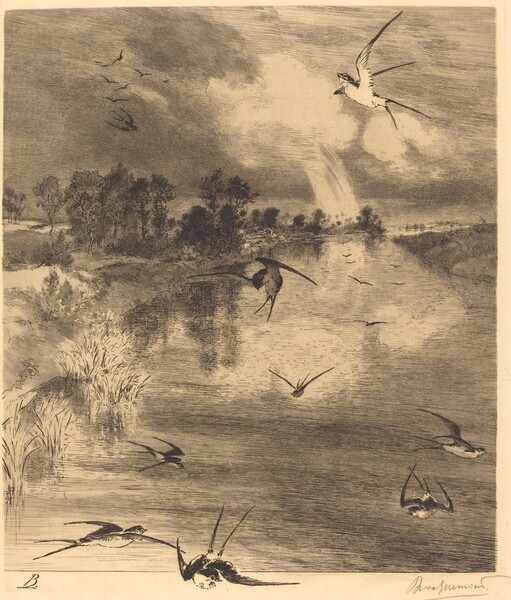 Les Hirondelles (The Swallows)