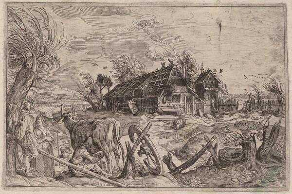 Landscape with a Farmhouse