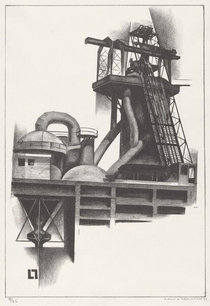 Corner of Steel Plant