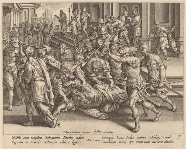 The Arrest of Saint Paul