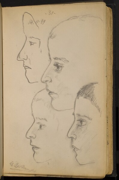 Studies of a Boy