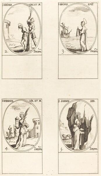 St. Irene & Companions; St. Christiana; Sts. Anania, Azaria & Misael; St. Florianus &
