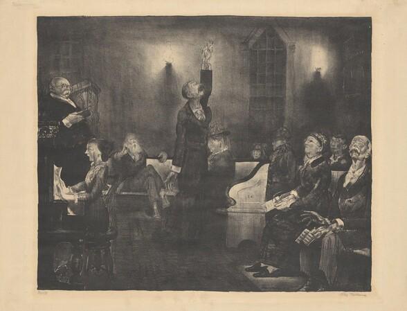 Prayer Meeting, second stone