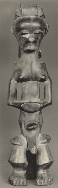 Figure with Clasped Hands, Pahouin