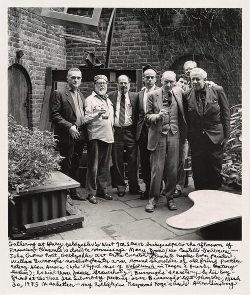 Gathering at Henry Geldzahler